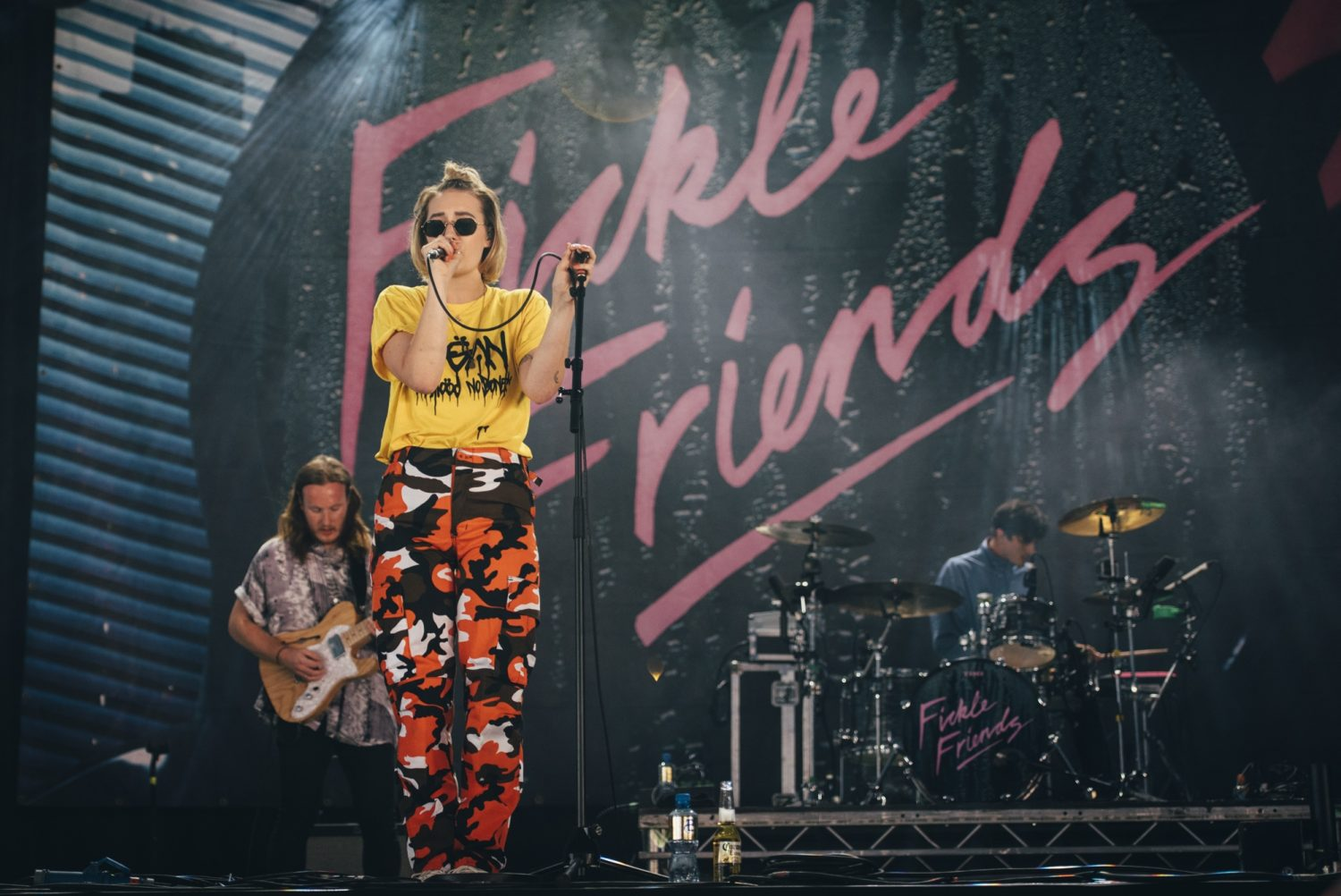 Meet your new Festival Agony Aunt, Natti from Fickle Friends
