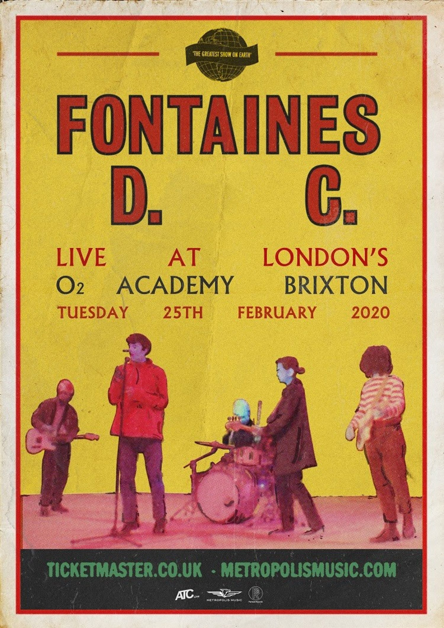 Fontaines D.C. are headlining London's O2 Brixton Academy next February for their biggest headline show to date